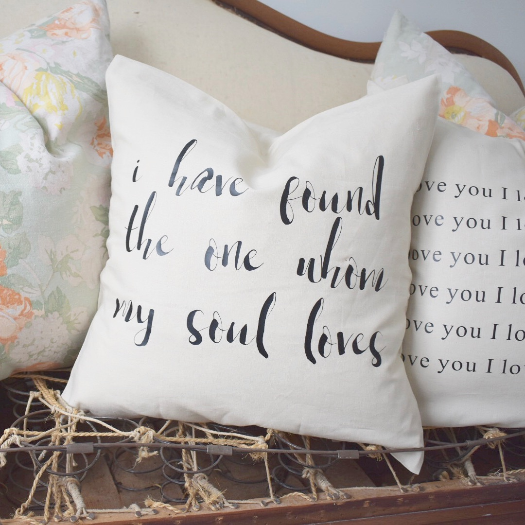 New Valentine's Pillows & Website