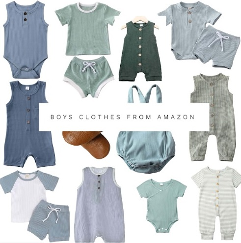 Boys Clothes From Amazon