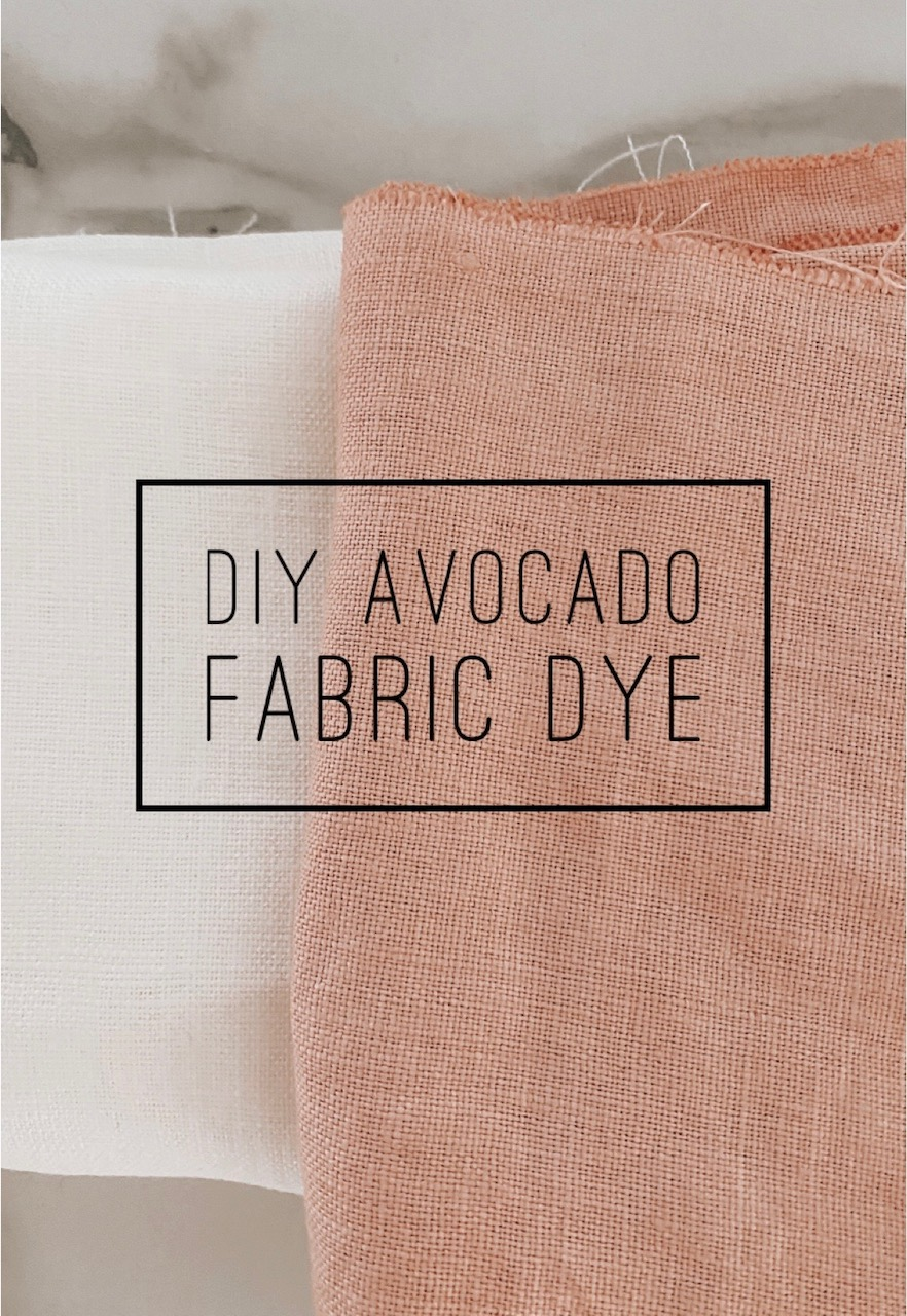 DIY Avocado Dye