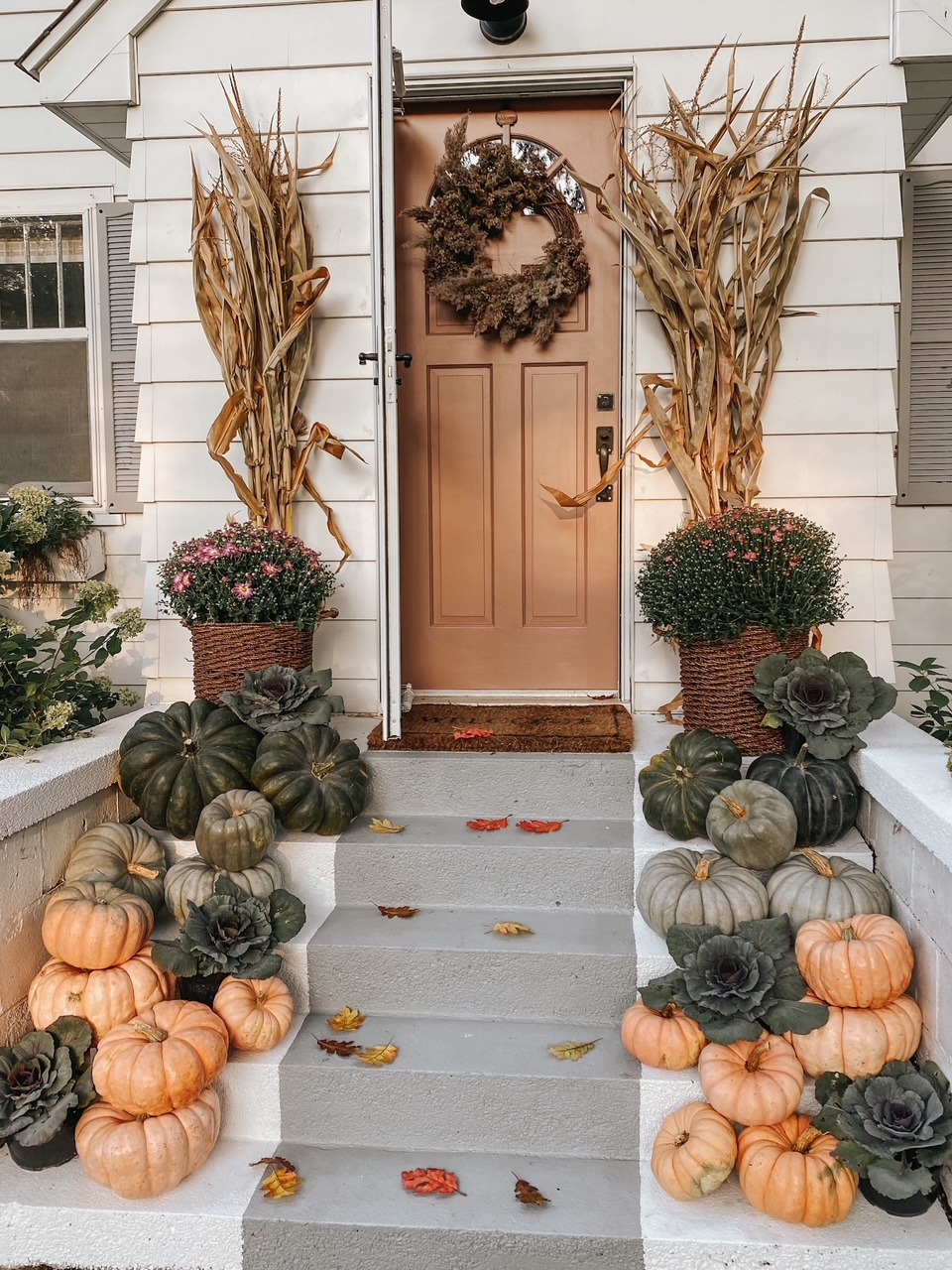 Fall Porch Three Ways