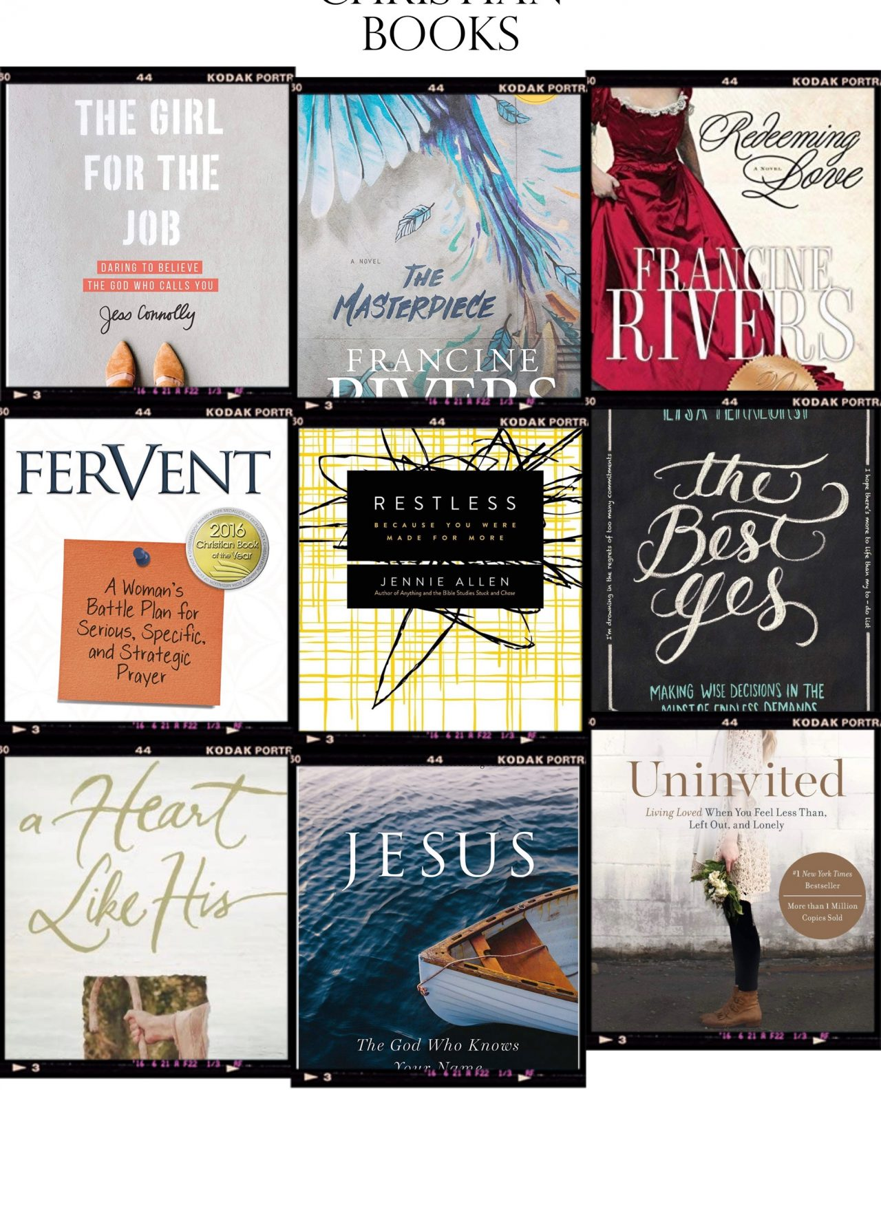 My Favorite Faith Based Books