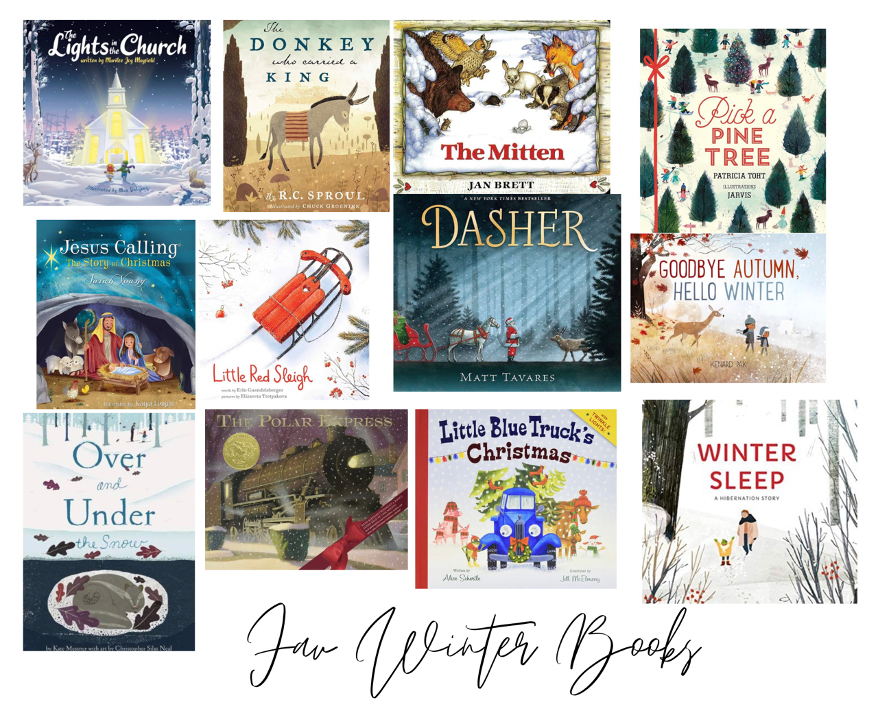 Winter Book Favorites