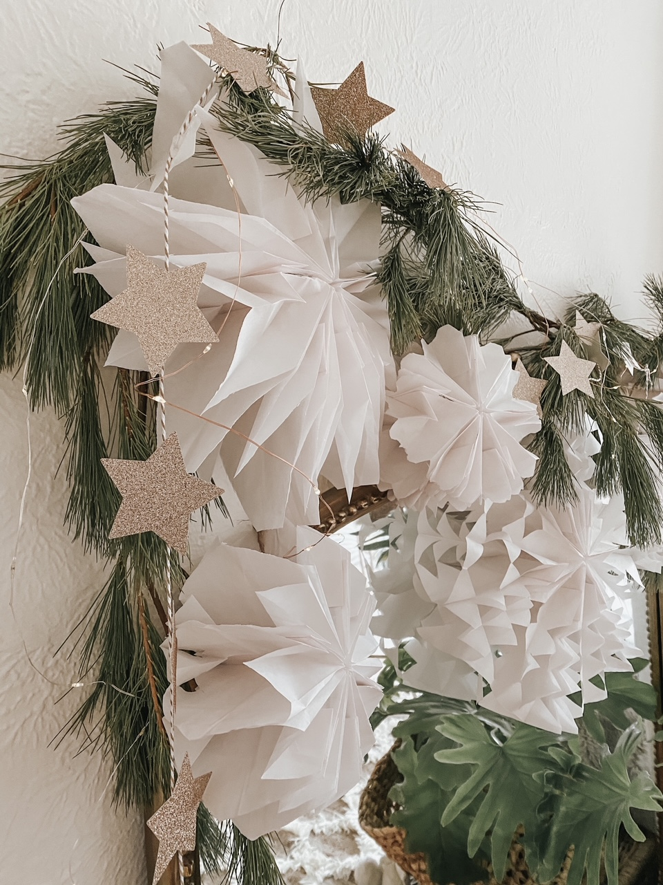DIY Star Garland